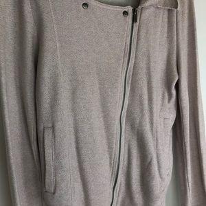 Anthropologie Jackets & Coats - Anthropologie pale lavender zip jacket